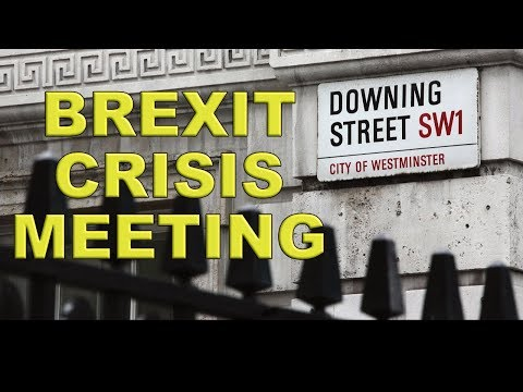 No deal Brexit Crisis Summit!
