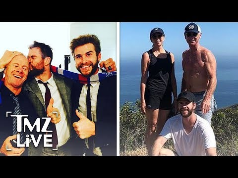 [TMZ] The Hemsworth Brother's Have A Really Hot Dad