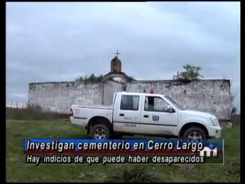 Investigan cementerio en Cerro Largo