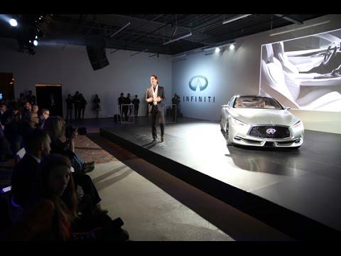 Infiniti Q60 Concept Reveal Detroit, MI