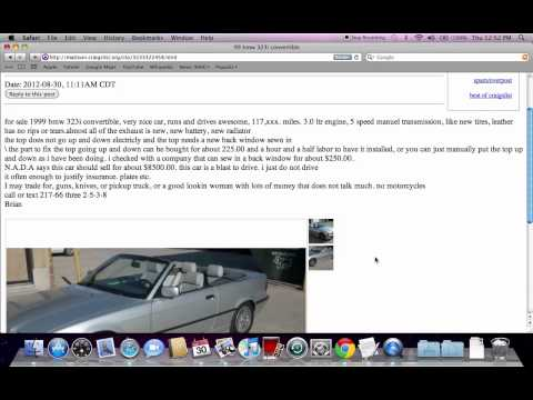 Craigslist Cars In Mattoon Il