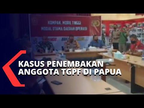 anggota tim gabungan pencari fakta ditembak kkb papua polisi siapkan langkah hukum