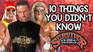 10 Things You Didn't Know About WWE Survivor Series