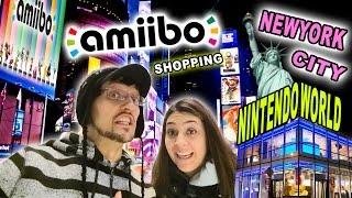 Amiibo Shopping in New York City @ Nintendo World! (Mom & Dads 2015 NY Toy Fair Trip)