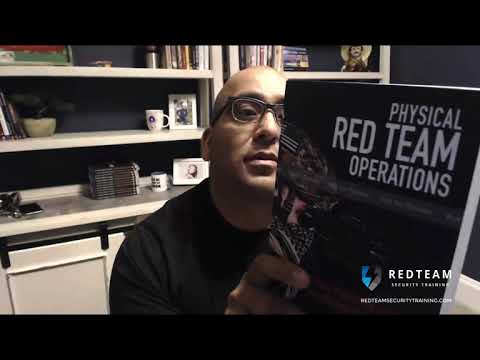 Unboxing my Physical Red Teaming Book, kinda (2019) - YouTube