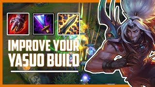 IMPROVE YOUR YASUO GAMEPLAY   TIPS ON HOW TO BUILD AND PLAY YASUO