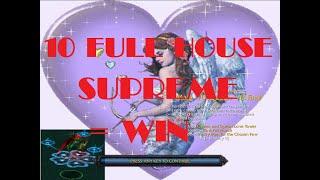 Warcraft III : Solo Mafa TD Queen V12 Final (10 FULL HOUSE SUPREME = WIN)