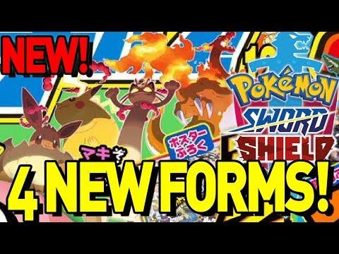 GIGANTIC NEW LEAK! 4 Gigantamax Pokemon Leaked for Pokemon Sword and Shield!