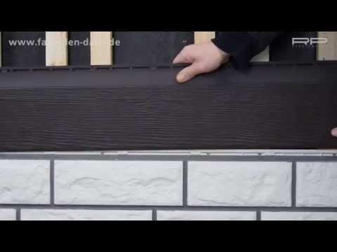 Fassadenbekleidungen von Zierer in Bruchsteinoptik