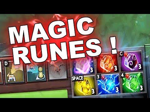 Dota 2 Tricks: Runes inside the Couriers 7.09!