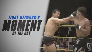 Double Knockdown to Anaconda Choke at DEEP: 60 Impact | Moment of the Day