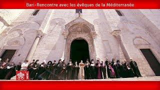 Pape François-Bari- Rencontre avec les évêques  de la Méditerranée 2020-02-23