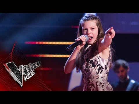 Courtney performs 'I Got You (I Feel Good)': Semi Final | The Voice Kids UK 2017