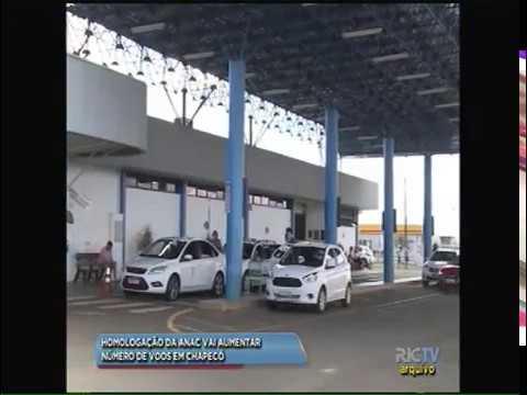 Homologação da ANAC vai aumentar número de voos em Chapecó  9e5b45179b2