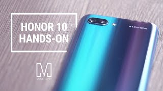 Huawei Honor 10 Unboxing and Hands-On