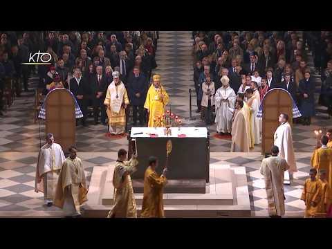Divine Liturgie en rite byzantin ukrainien