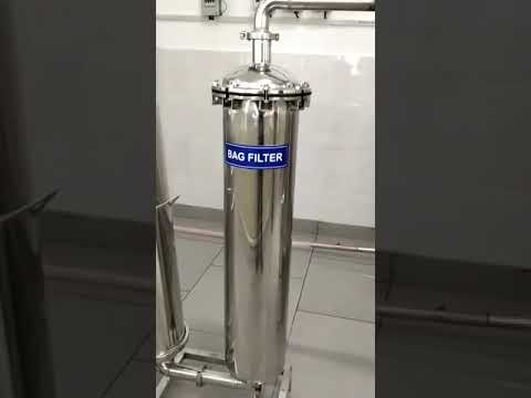 Natural Mineral Water Filtration Plant Stainless Steel