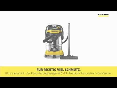 Aspirador Kärcher WD6 Premium
