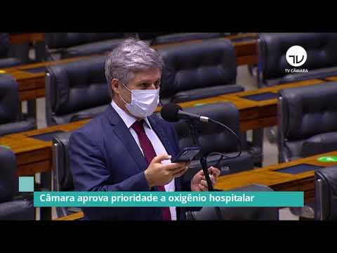 Câmara aprova prioridade a oxigênio hospitalar – 30/01/21
