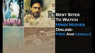 Best Sites To Watch Hindi Movies Online- Free And Legally