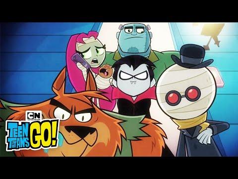 Teen Titans GO!   Scary Rap   Cartoon Network