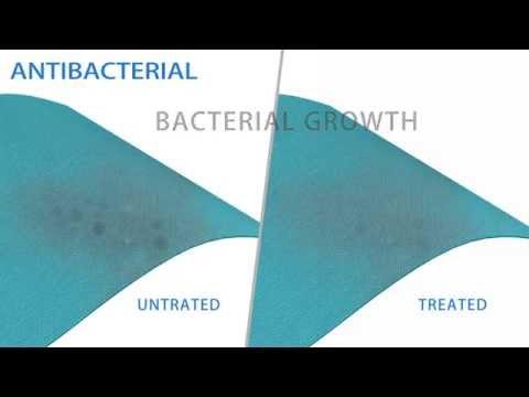 Antibacterial Finish 抗菌處理 ( 由智偉織造提供 )