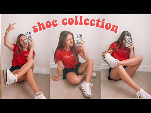 my shoe collection 2019!!