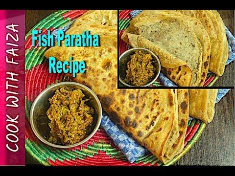 TUNA PARATHA – FISH PARATHA – Urdu/ Hindi Recipes *COOK WITH FAIZA*