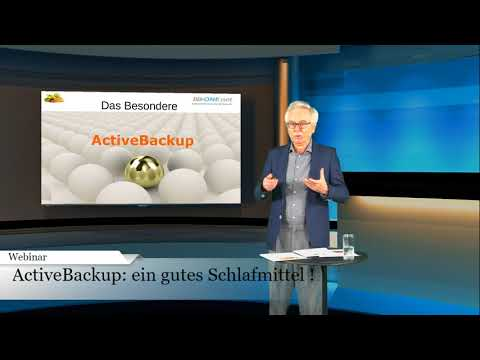 ActiveBackup - die Anti-Downtime Strategie