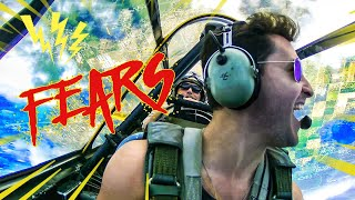 Facing My BIGGEST Fears | SCORPIONS, SPIDERS, PLANES + More | Doctor Mike - Video Youtube