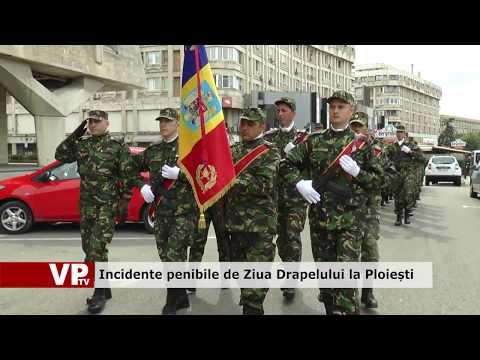 Incidente penibile de Ziua Drapelului la Ploiești