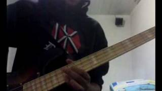 No Apology - Anti-Flag (bass cover).avi