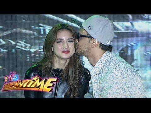Billy impressed with Coleen in 'Sexy Catsuit' costume