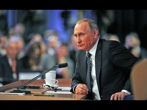 «Путин бабай»: онлайн-трансляция большой пресс-конференции президента