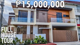 House Tour GT15 | Corner Modern Tropical House and lot for sale | Greenwoods Subd. Taytay, Rizal