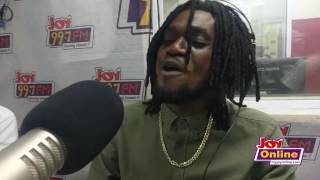 A.I Performs 'Grind' Live On Joy FM
