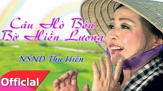 [Karaoke HD] Câu Hò Bên Bờ Hiền Lương - Thu Hiền