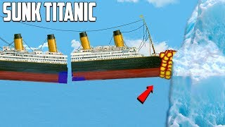 How The Titanic Actually Sank   Floating Sandbox