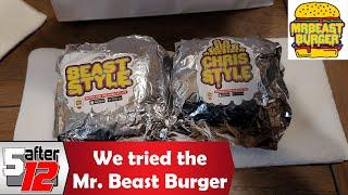 We got the Mr. Beast Burger from Door Dash | Louisville, KY