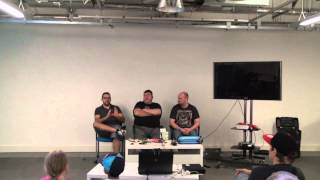 preview picture of video 'Preston Raspberry Jam 07 July 2014 Expert Panel'