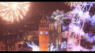 Happy New Year E-Cards, Programme website London 2016 Fireworks on New Years Day Happy New year