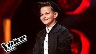 """Paweł Szymański - """"I Have Nothing"""" - Przesłuchania w ciemno - The Voice Kids Poland 2"""