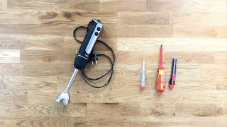 DIY Stabmixer öffnen / reparieren
