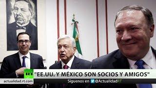 """Mike Pompeo: """"EE.UU. y México son vecinos, socios y amigos"""""""