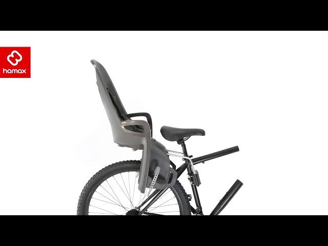 Видео Сидение заднее на багажник Hamax Zenith (Grey w/ Black Padding)