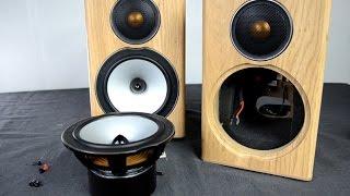 Monitor Audio Bronze BX1 speakers look inside