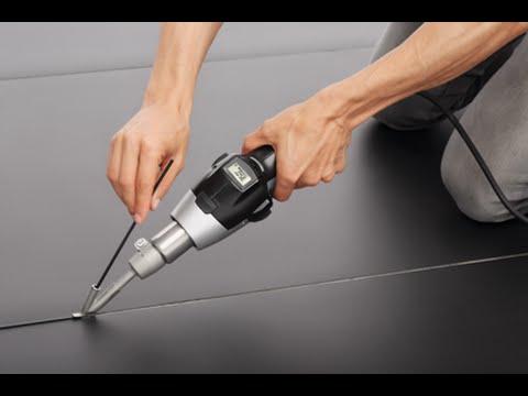 Correctly Installing Linoleum Floor Using Heat Tools