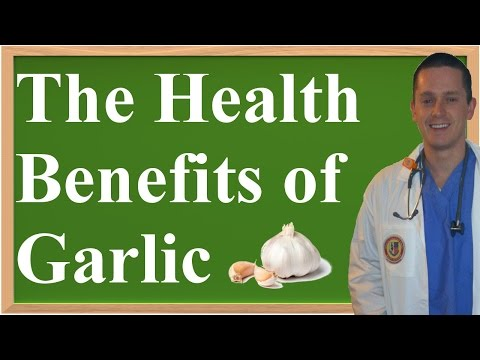 Video The Health Benefits of Garlic (A Review of the Evidence)