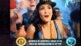 Michael Soifer vs Angie Arizaga rap de esto es guerra