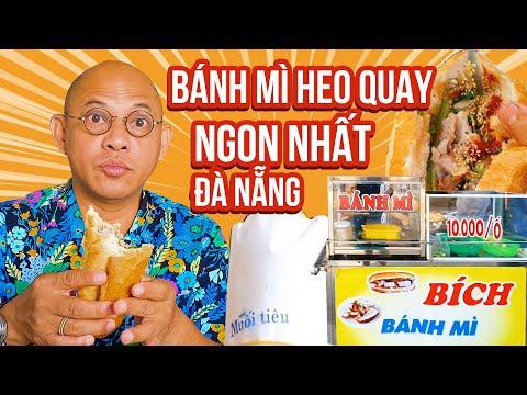 Food For Good #462: 10k 1 ổ bánh mì heo quay ngon nhất Đà Nẵng là có thiệt !